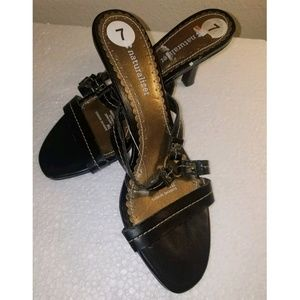 🛍 Naturalizer Sunshine heeled sandals Black 3/$10